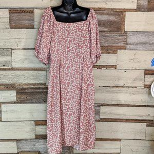 Mimi Chica Dresses - Mimi Chica Button Off Shoulder Down Dress NWT  XL